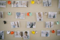 Mod baby Shower - Such a great decoration idea!