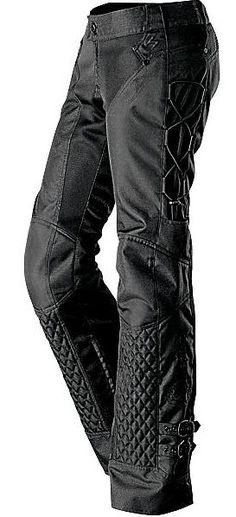 Womens Motorcycle Pant Savannah in black More