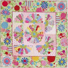 Dresden Dots quilt, in: Quilts with a Spin by Piece O' Cake Designs