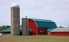 Newark Road barn,In Lapeer County Michigan.