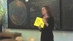 The Letter N- using the Vimala Alphabet by Jennifer Crebbin, via YouTube.