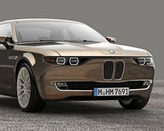 BMW CS vintage concept pays tribute to 1968 E9 series by giovanni michelotti