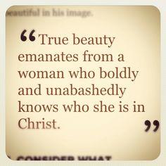 true beauty.