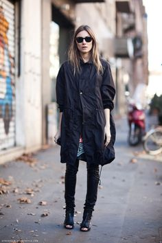 streetstyle /  Love the jacket & the shoes