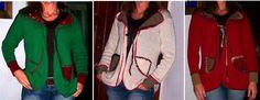 Abrigos cortos con aplicaciones de fieltro aplicacion de, con aplicacion, abrigo corto, de fieltro, tejido primaveraverano, primaveraverano 20132014, corto con