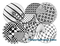 Zentangle: Spheres | Casa del Alma