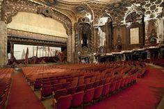 abandoned theaters by Matt Lambros