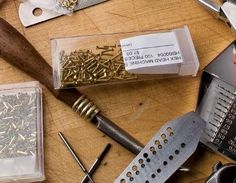 riveting supplies and tools - from 5 Riveting Details: When, Where, and How to Use Rivets and Other Cold Connections