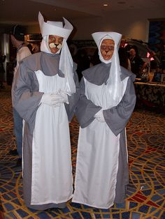 Sisters of Plenitude, cat nuns from Dr who