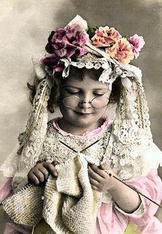 Vintage girl.