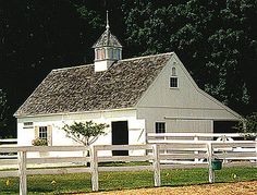 Build Your Own Barn - Or, have a local carpenter help. It couldn't be easier than with a pre-cut, post & beam barn kit from Country Carpenters.