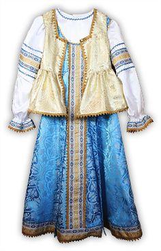 """Holiday folk costume """"Tsarevna"""""""