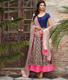 Like It Or Not  Shoppers99 offers you the latest collection of Party wear anarkali Suits, Anarkali dresses, Anarkali Suits, Bollywood Anarkali online & get best deals on It.....