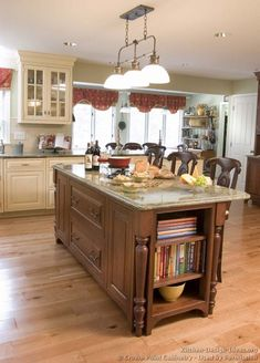 #Kitchen Idea of the Day: Expand your color palette with two-toned kitchens. (By Crown Point Cabinetry)