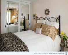 c3492  13 Erica Islas fifteen Pretty Bedrooms with Leopard Accents interior design ideas  photo