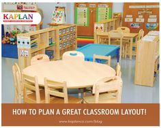 Plan your perfect classroom layout with the following tips and resources!