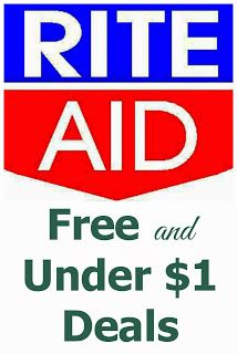 Rite Aid FREE and Under $1 Deals -- 12/8-12/14 #FREE #deals #RiteAid