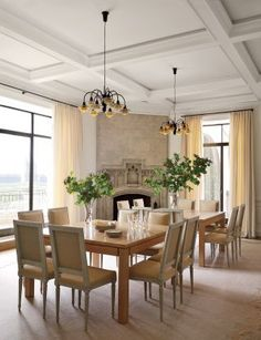 Traditional Dining Room by Shelton, Mindel & Associates in New York, New York