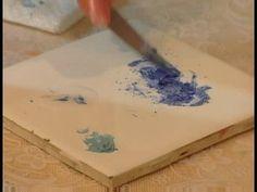 How to Paint Porcelain : Mixing Porcelain Paint