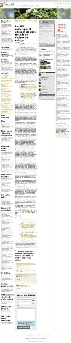 retour sur les z'ed : identité numérique et citoyenneté dans les médias sociaux au collège http://leszed.ed-productions.com/identite-numerique-et-citoyennete-dans-les-medias-sociaux-au-college/