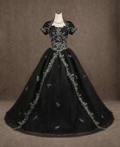 wedding dressses, ball gowns, black weddings, cloth, gothic wedding, princess dresses, jackets, black wedding dresses, theme weddings