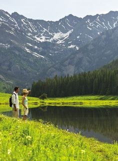 Adventure lovers? Get lost beneath Vail's majestic mountains.