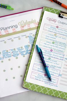 Over 20 Real Food Meal Planning Printables!! Plus, how to create meal plans your family will love.