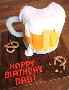 awesom cake, cake idea, birthday cake decoration ideas, heart sugar, food, birthdays, butter heart, beer cakes, birthday cakes decorations