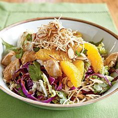 Asian Chicken Salad | CookingLight.com #myplate #veggies #protein