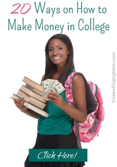 20 Ways on How to Make Money in College - These are great, flexible jobs that are ideal for college students. Pinned over 22,000 times.