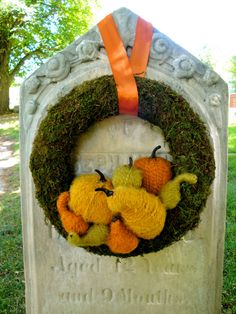 Autumn Wreath Vintage Harvest Wreath by thechicadeeshop on Etsy, $120.00