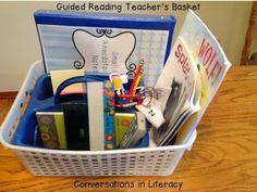 Guided Reading Teacher Basket