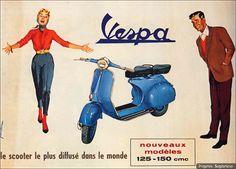 Anuncio retro: Vespa | Vintage