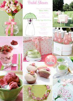 bridal shower decorations, polka dots, wedding ideas, wedding showers, bridal shower ideas