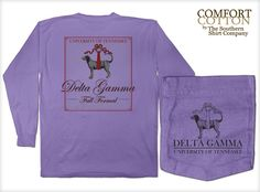 Delta Gamma Sorority Shirts by The Southern Shirt Co. DG