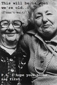 I love old ladies. :)  @Kelley Holliday
