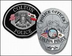 Colton, CA police badge & patch