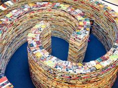 Gigantic aMAZEme Book Maze in London Will Be Made from 250,000 Books! | Inhabitat - Sustainable Design Innovation, Eco Architecture, Green Building