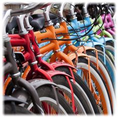 bikes, what color would you like?