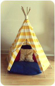 Teepee from old maxi dress