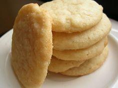 Chewy sugar cookies dessert recipe