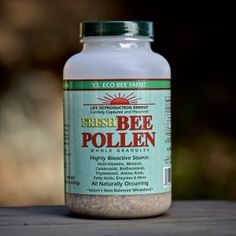 A Nourishing Superfood Courtesy of Bees!  Did you know Bee Pollen contains more amino acids than beef, eggs, or cheese of equal weight?  Awesome. http://www.honeycolony.com/shop/ys-bee-pollen/