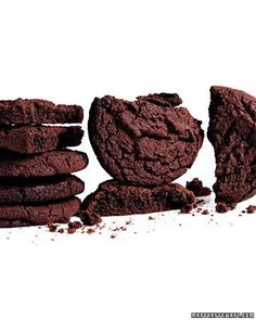 Giant Chocolate Sugar Cookies Recipe