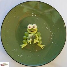 Kiwi Frog #fruitart