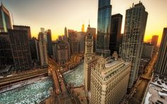 Even in the cold, how can you not love #Chicago?