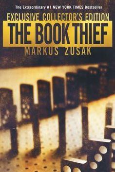 The Book Thief by Markus Zusak. Wonderful book. Completely heartbreaking.