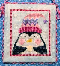 adorable xstitch freebie- penguin