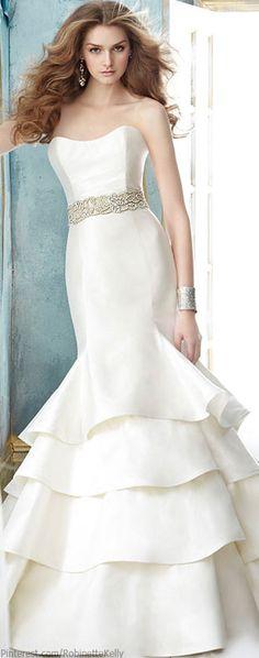 Jim Hjelm Bridal / Vestido de novia #boda