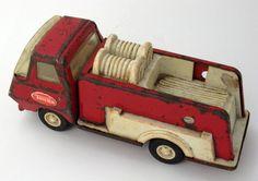 Vintage mini tonka fire truck