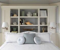 Beach house bedroom